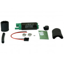 AEM E85 E100 M100 340LPH High Flow In-Tank Fuel Pump (Offset Inlet) & Universal Installation Kit #50-1200