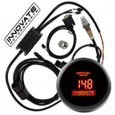 INNOVATE DB RED LED WIDEBAND GAUGE KIT, LC-2, LSU 4.9 O2 SENSOR #3796