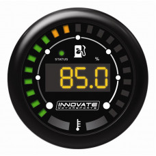 INNOVATE MTX-D: Ethanol Content Percentage & Fuel Temp Gauge Kit  (*Ethanol Sensor NOT included)  3912
