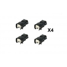 Bosch EV6 USCAR Female to Nippon Denso Male One-piece Wireless Adapter X 4