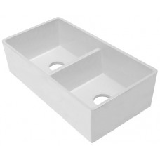 ROSSCO Butler Double Composite Sink 800x425x220mm White