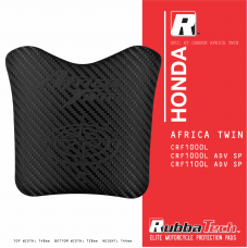 RUBBATECH AT Carbon Honda Africa Twin (New Design) 2020 Tank Pad