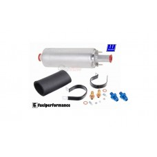 GENUINE TIA Walbro GSL392 Inline External Fuel Pump + Installation Kit + 6AN Fittings