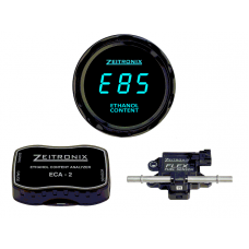 Zeitronix Ethanol E% Content Analyzer ECA-2 Kit With Flex Fuel Sensor (BLUE)