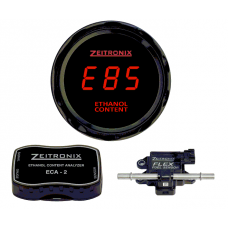 Zeitronix Ethanol E% Content Analyzer ECA-2 Kit With Flex Fuel Sensor (RED)