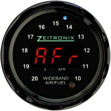 Zeitronix Zt-2 + ZR-2 Multi-Gauge Display Bundle (RED/BLACK)