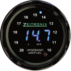 Zeitronix Zt-2 + ZR-2 Multi-Gauge Display Bundle (BLUE/BLACK)