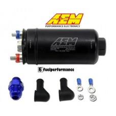 AEM 400LPH Inline High Flow Fuel Pump  # 50-1005